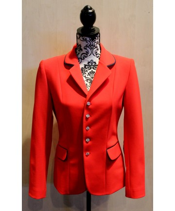 veste soft shell rouge