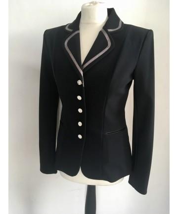 veste ruban métalisée