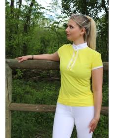 polo concours jaune