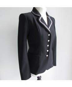 veste ruban métalisée-noir-38