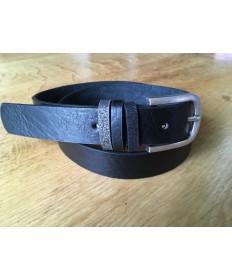 ceinture noir passants paillettes