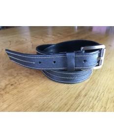 ceinture cuir métalisé