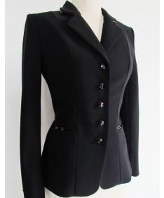 veste noir vernis noir